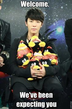 This is how I felt when I discovered that Go Seung-ji from Panda and Hedgehog was played by Super Junior's Donghae.