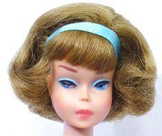 RARE! Vintage Side Part Blonde American Girl Barbie Doll Mint! #MidCentury Dolls  #Dollshopsunited