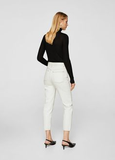 Jeans straight judith | MANGO