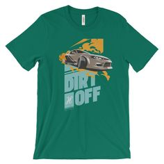 Dirt Off Car Racing T-Shirt white Baby Knitting, Race Cars, Looks Great, Racing, Mens Tops, T Shirt, Products, Fashion, Drag Race Cars