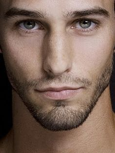 All in the eyes....and the lips, and the scruff...unf.