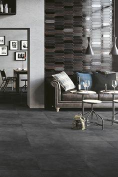 Reve by Mirage #interiordesign #resin #miragetile #porcelaintiles #wall #floor