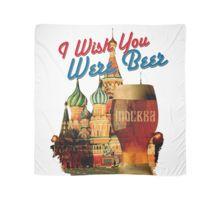 I Wish You Were Beer – Moscow Scarf  (Храм Василия Блаженного, Москва) – designed by Andras Balogh