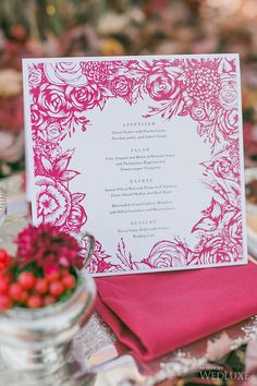 WedLuxe– Baroque Vineyard   Photography by: Rhythm Photography Follow @WedLuxe for more wedding inspiration!