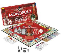 Shop for Coca Cola Anniversary Collector's Edition Monopoly. Get free delivery On EVERYTHING* Overstock - Your Online Toys & Hobbies Outlet Store! Board Game Store, Fun Board Games, Coca Cola Merchandise, Vintage Cooler, Coca Cola Vintage, Cocoa Cola, Best Soda, Coca Cola Decor, Always Coca Cola