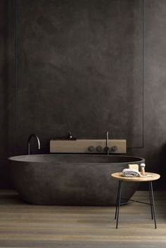 If you have a small bathroom in your home, don't be confuse to change to make it look larger. Not only small bathroom, but also the largest bathrooms have their problems and design flaws. Luxury Bathtub, Bathroom Design Luxury, Luxury Bathrooms, Dark Bathrooms, Dream Bathrooms, Modern Bathrooms, Beautiful Bathrooms, Modern Bathtub, Farmhouse Bathrooms