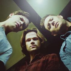 Alexander Calvert(Jack), Jared Padalecki(Sam Winchester), Jensen Ackles(Dean Winchester)