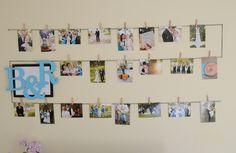 Photo Display Wall A