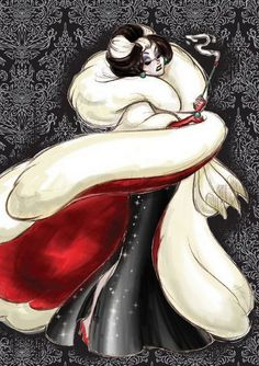 Disney Designer Villain - Cruella by Stephen Thompson.
