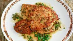 Savory Chicken Scaloppine recipe.