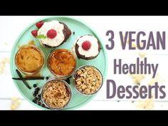 3 Mini Vegan Desserts for Two| Collab w/Fablunch - Healthnut Nutrition