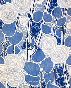 Brooksby, by Liberty & Co. Duplex printed cotton. England, c.1910.