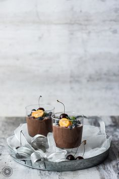 Kakaowy budyń jaglany. | Cocoa millet pudding. | Yummy Lifestyle