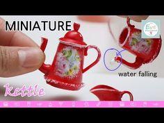 진짜 물이 나오는 미니어쳐 주전자 miniature kettle water coming out