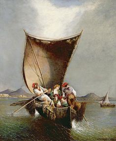 The Fisherman's Family Consalvo Carelli