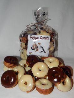 Doggie Donuts Gourmet Dog Treats by PupsnCups on Etsy, $11.00