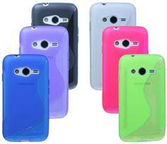 Fundas Diseño Carcasa Estuche para Samsung Galaxy Trend 2 LITE G318H + Lámina