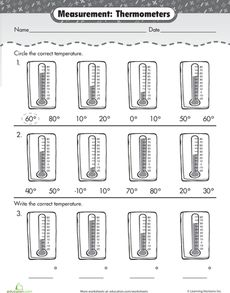 Printables Thermometer Worksheets worksheets reading and the ojays on pinterest free measurement mania thermometers worksheet you can find so many worksheets