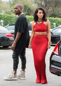 Kanye West in the adidas Yeezy 750 Boost