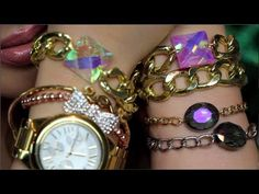 DIY Crystal Link Bracelets (Gift Idea) Inspired - Bracelets, Crystal, Gift, Idea, Inspired, Link