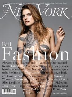 Mark Seliger's new cover of New York magazine featuring a stunning Lake Bell, Aug 2013