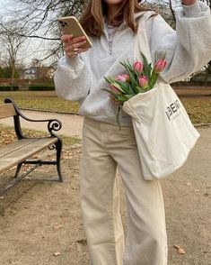 Bild Outfits, Adrette Outfits, Spring Outfits, Fashion Outfits, Looks Style, My Style, Mode Ootd, Estilo Blogger, Spring Aesthetic