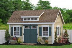 10x14 Premier Garden Storage Shed