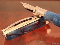 Visconti Pens | Visconti Fountain Pen Opera Club Blue Red Swirl Limited Edition No. 1 ...
