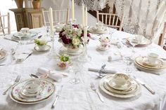 Vintage Wedding Table Ideas