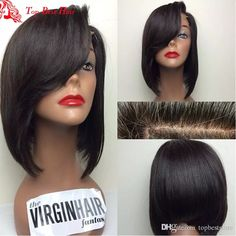 Bob Wig Human Hair Full Lace Front Black Bob Wig Bangs For Black Women Glueless Virgin Peruvian Hair Full Lace Wig Bangs Full Lace Wig Bangs Black Bob Wig Bangs Bob Wig Human Hair Full Lace front Online with $334.38/Piece on Topbeststore's Store | DHgate.com
