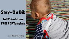 Reversible Stay-On Bib