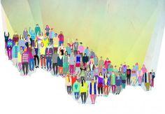 illustration by ALICA GURINOVA, illustrator represented by OWL Illustration agency www.owlillustration.com Owl Illustration, Animation Film, Illustrator, Creative, Inspiration, Biblical Inspiration, Illustrators, Inspirational