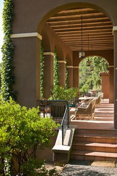 Napa Valley Garden and Vineyard - Traditional Home®