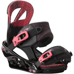 Burton Scribe Womens Snowboard Bindings: Blackberry