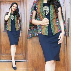 Jual CAPE BLAZER EXCLUSIVE Batik PRODO ASMAT HIJAU Baru   Cardigan / Bolero Wanita Model Terbaru   Bukalapak.com