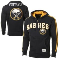 Old Time Hockey Buffalo Sabres Read Full Zip Hoodie - Navy Blue f60f7d123