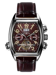André Belfort Reloj automático Royale Date Marrón 38 mm en Amazon BuyVIP