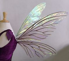 fairy wings for sale | New Pair of Teasel wings for sale, and a peak at the RL Azarelle dress