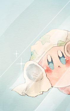 Cute Anime Wallpaper, Wallpaper Iphone Cute, Cute Cartoon Wallpapers, Animes Wallpapers, Cute Animal Drawings, Kawaii Drawings, Cute Drawings, Kirby Character, Character Art