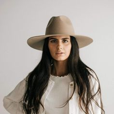 The Emma is a stiff wide brim fedora. It's a Australian felt fedora with an ultra stiff brim that will hold its shape and stays where you want it to stay. Wear it on it's own or add a leather band for a pop of color. The Emma has a 5 Short Brim Hat, Wide Brim Fedora, Fox Hat, Wide-brim Hat, Trilby Hat, Fedora Hats, Black Snapback, Wearing A Hat, Winter Hats For Women