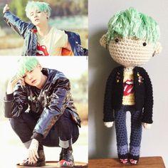 Min Yoongi, Suga, BTS, Crochet Doll