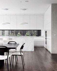 WEBSTA @neutralinstinct Minimal and striking.  Beautiful design by @davidwatsonarchitect . @agushipl @sandraloewy