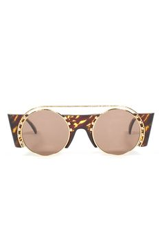 VINTAGE PALOMA PICASSO ROUNDED SUNGLASSES