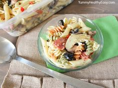 The Best Ever Pasta Salad with Homemade Dressing (no mix!) This stuff is addictingly delicious!