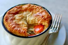 This chicken pot pie is absolutely delicious! #entree