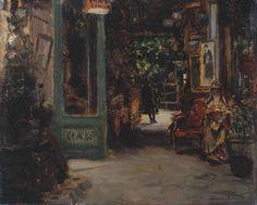 Bernard Sickert Old Curiosity Shop, Dieppe 1895 - still life quick heart A4 Poster, Poster Prints, Norwich Castle, The Old Curiosity Shop, Tate Gallery, Cityscape Art, Art Uk, Vintage Artwork, Still Life