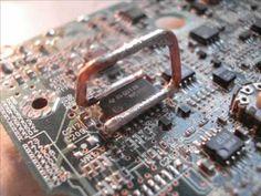 Como dessoldar CI em SMD sem Ferramentas Especiais - Nova Eletrônica