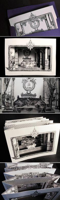 Upholstery Invite by Karen To, via Behance