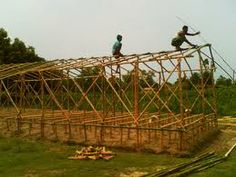bamboo shelter - Google Search