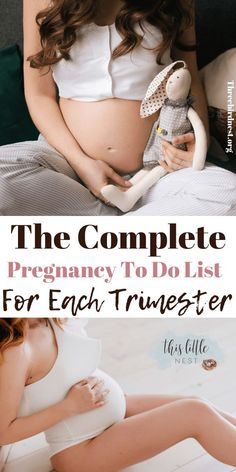 Your full and complete pregnancy list. Click to read Pregnancy To Do List By Trimester // Three Bird Nest -- #pregnancy #newmother Pregnancy Must Haves, Pregnancy Advice, Second Pregnancy, Trimesters Of Pregnancy, Pregnancy Care, Second Trimester, Pregnancy Ultrasound, Best Prenatal Vitamins
